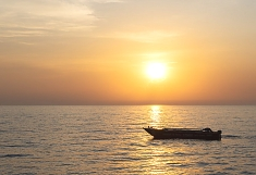 Lake Tanganyika in Gombe National Park