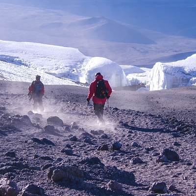 Climbing Kilimanjaro through Lemosho Route