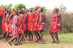 The Maasai Warriors